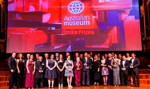 Eureka science prizes for students