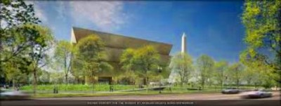 Planned Smithsonian National Museum of African American History and Culture.