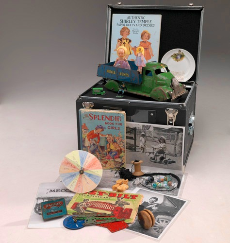 Childhood Games and Pastimes Reminiscing Kit. Source: Museum Victoria.