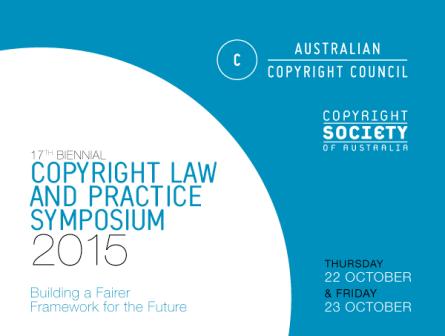 Copyright symposium