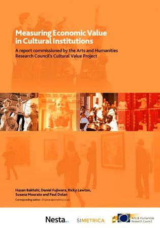 AHRC Measuring Economic Value in Cultural Institutions