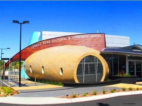 Lennox Head Cultural and Community Centre. Source: ArtsHub.
