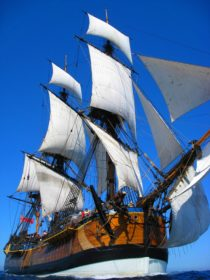 Endeavour Full Sail