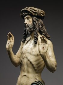 Christ Showing His Wounds (around 1515–20) (Photo: © Louvre Abu Dhabi / Thierry Ollivier)