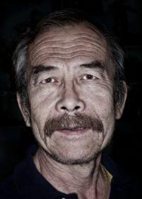 The Australian Museum's taxidermist, Mr Wang.CREDIT:JONATHAN CAMI